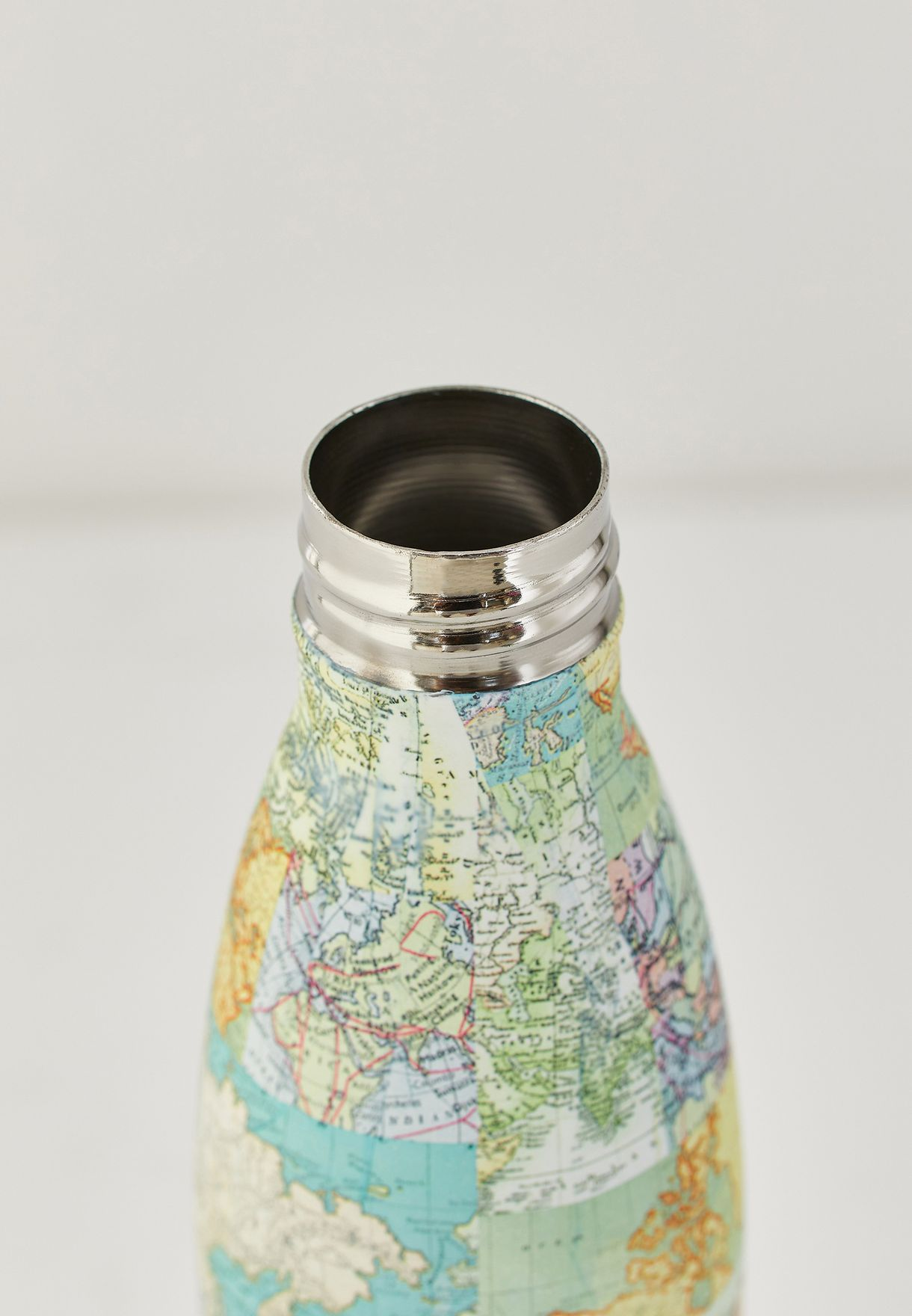 Vintage Map Water Bottle