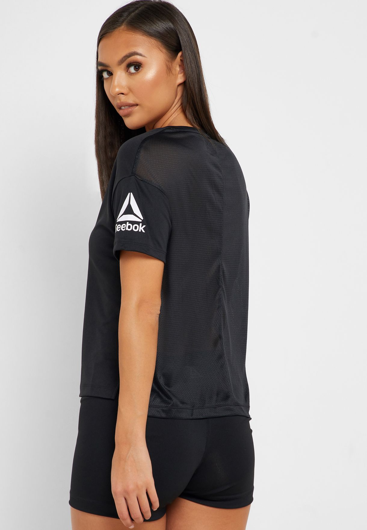 Workout Ready Poly Solid T-Shirt