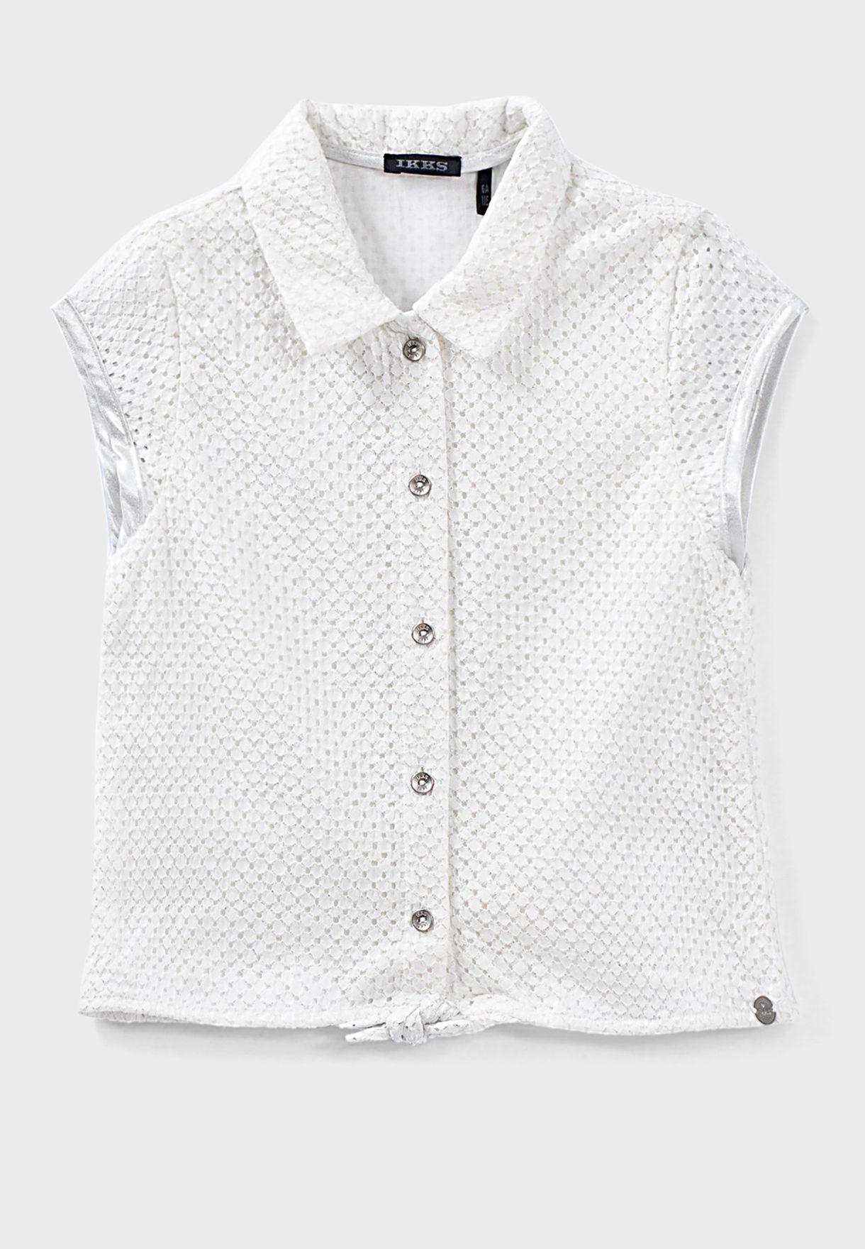 قميص مبطن للاطفال