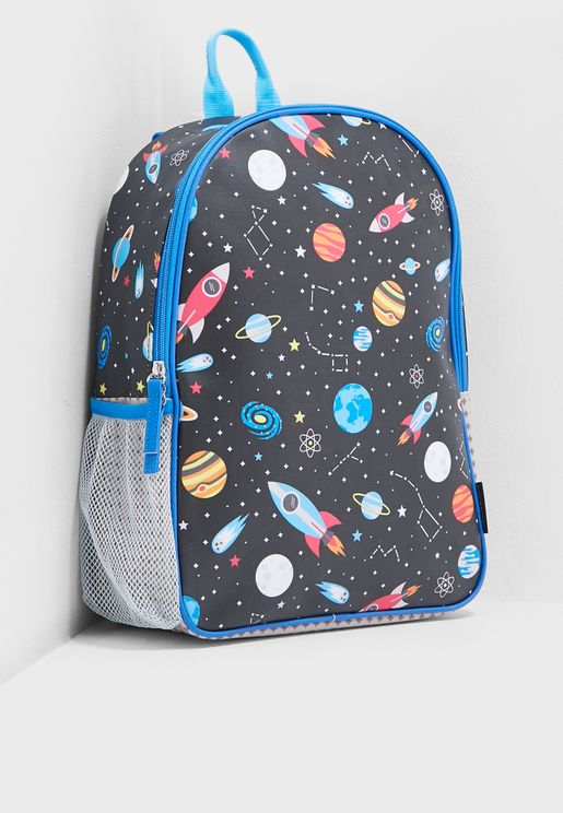 Kids Space Eco- friendly Backpack