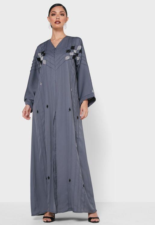 Squein Embroidered Abaya