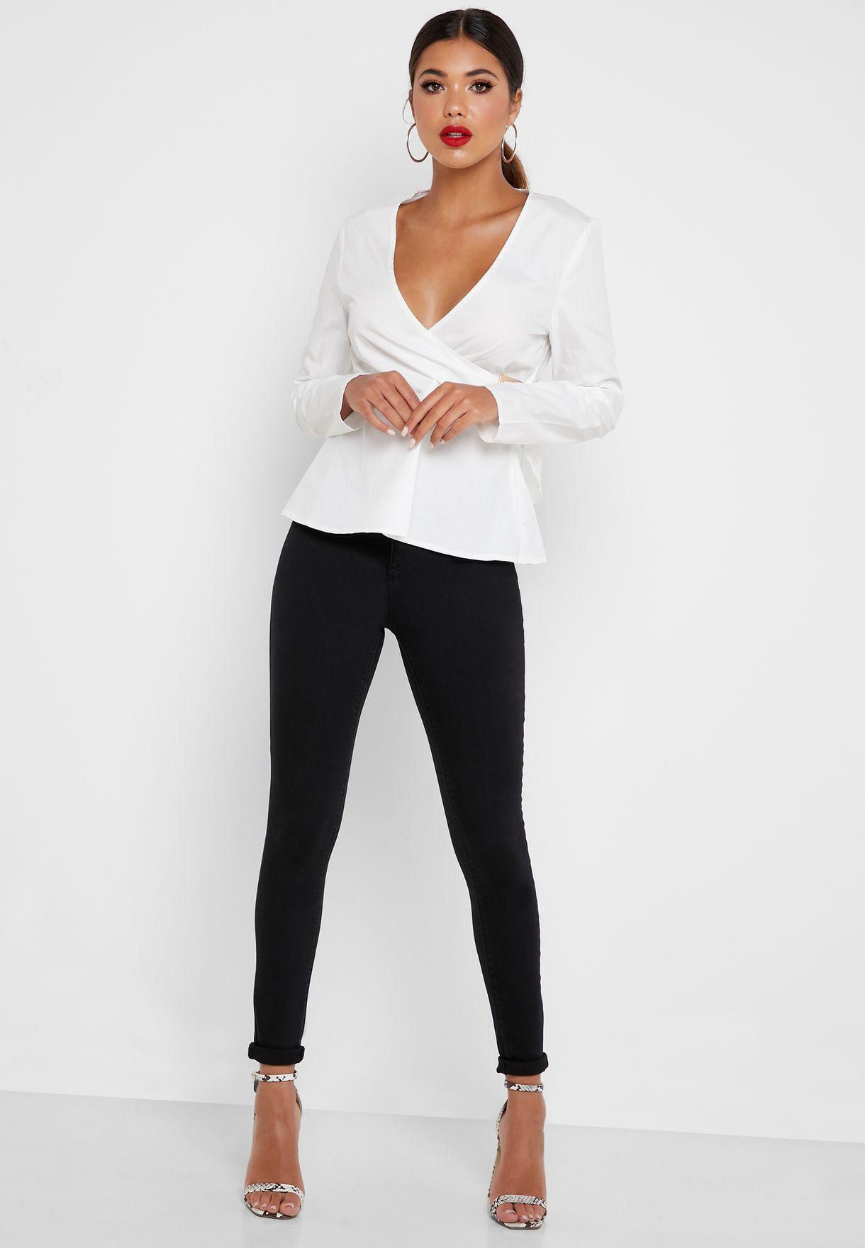Vice High Waist Skinny Jeans