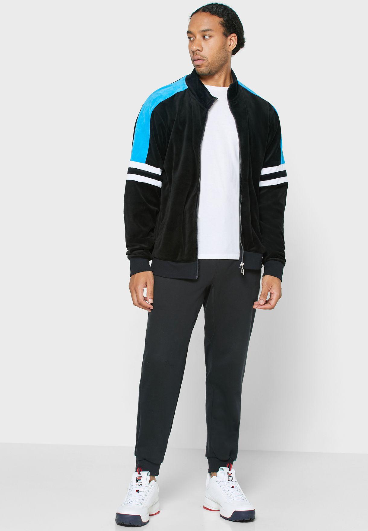 Shay Velour Track Jacket