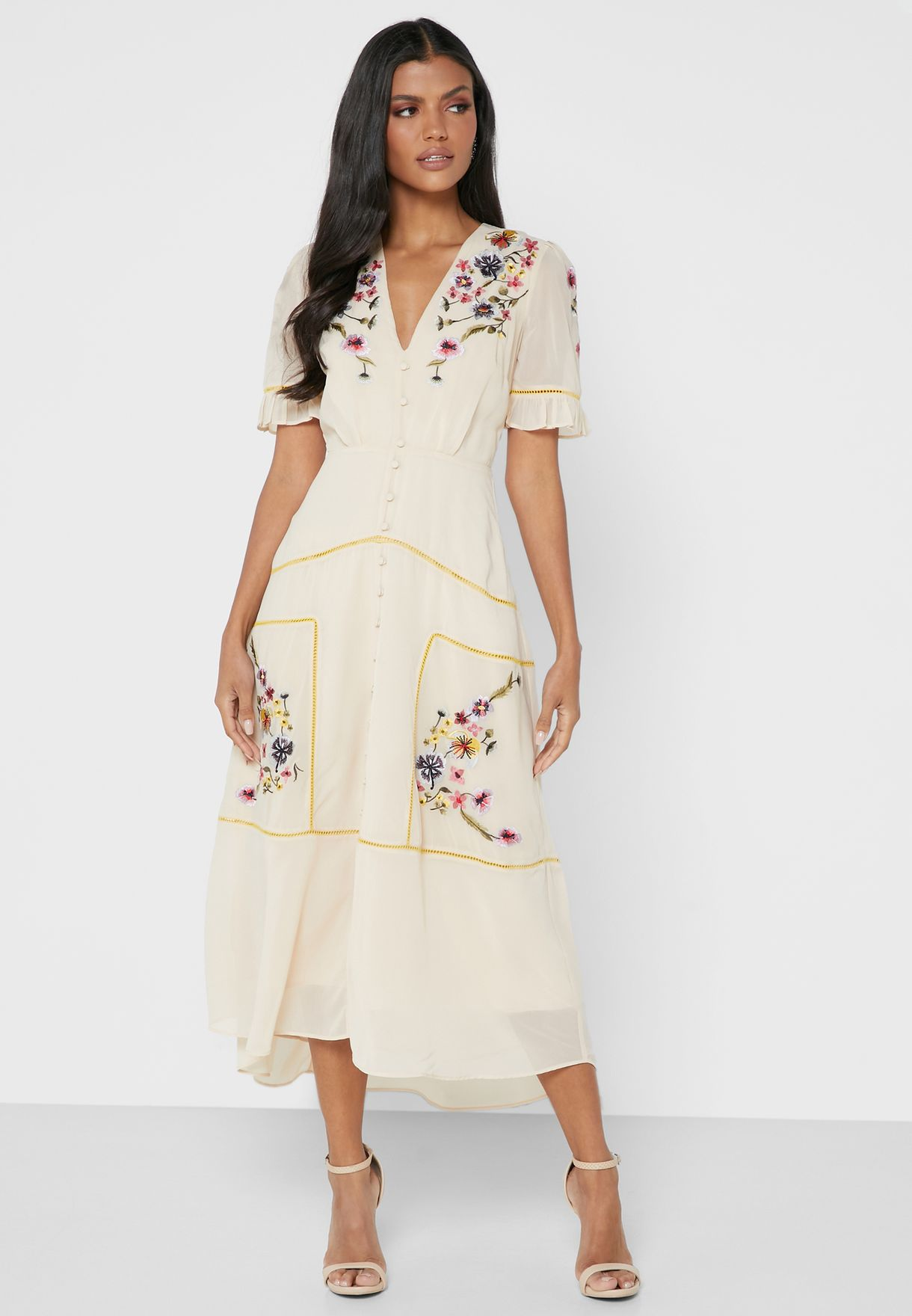 The Madeline Embroidered Dress