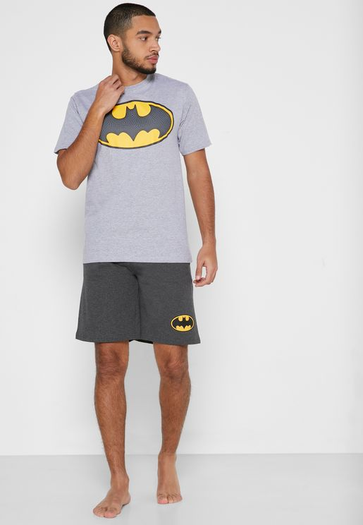 Batman Badge PJ Set