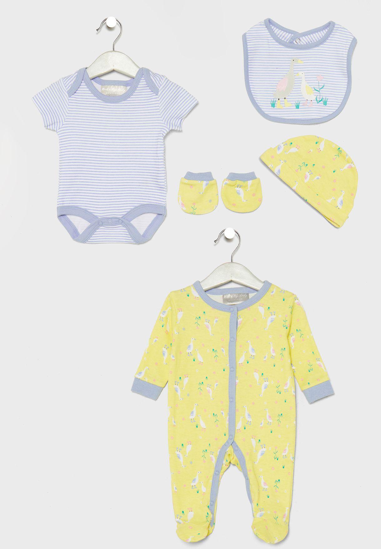 Infant 5 Piece Gift Set
