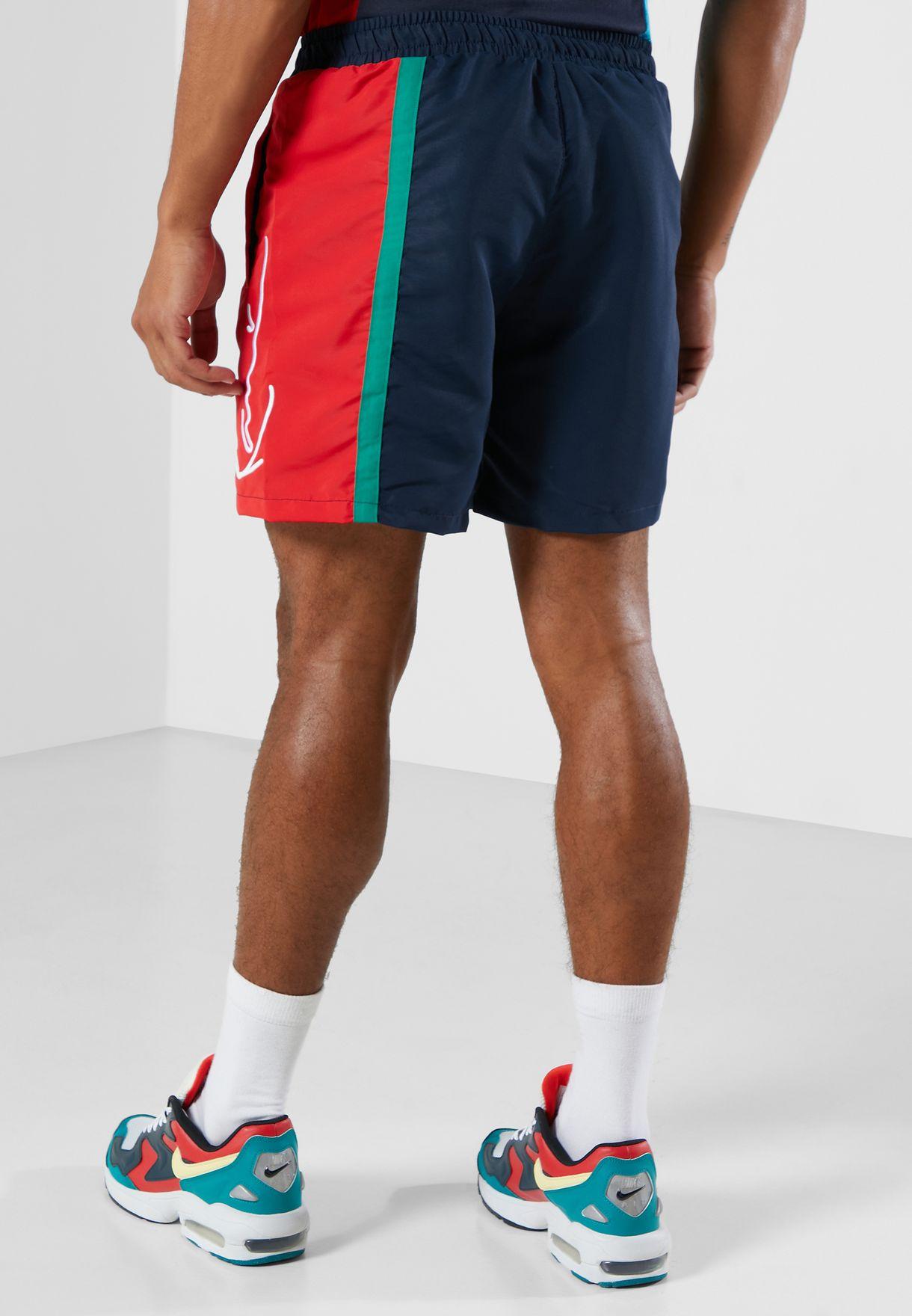 Signature Colour Block Shorts