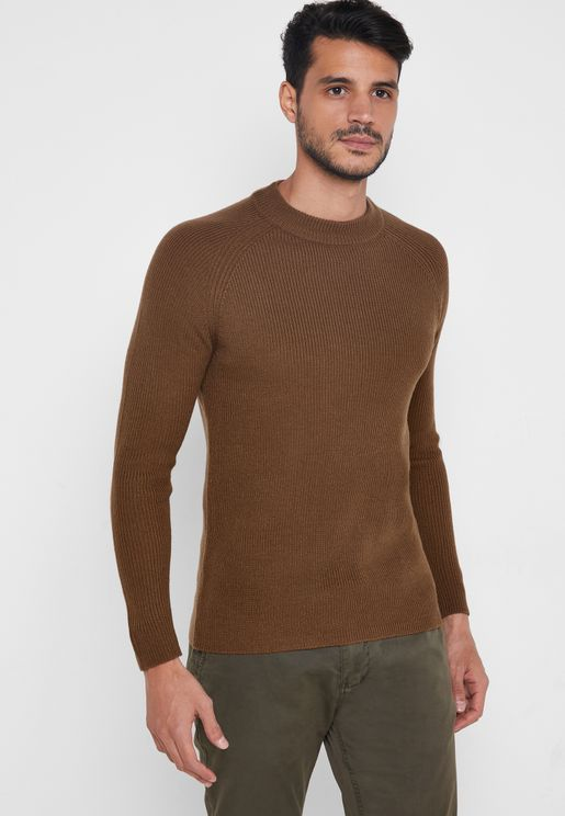 Fisherman Twist Sweater