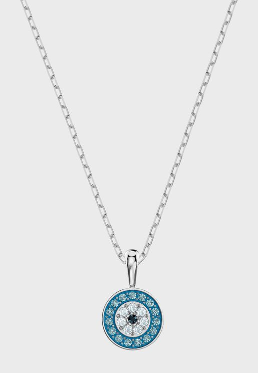 Luckily Necklace With Round Pendant