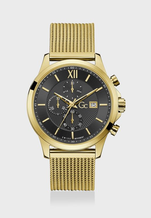 Executive Chronograph Mesh Watch