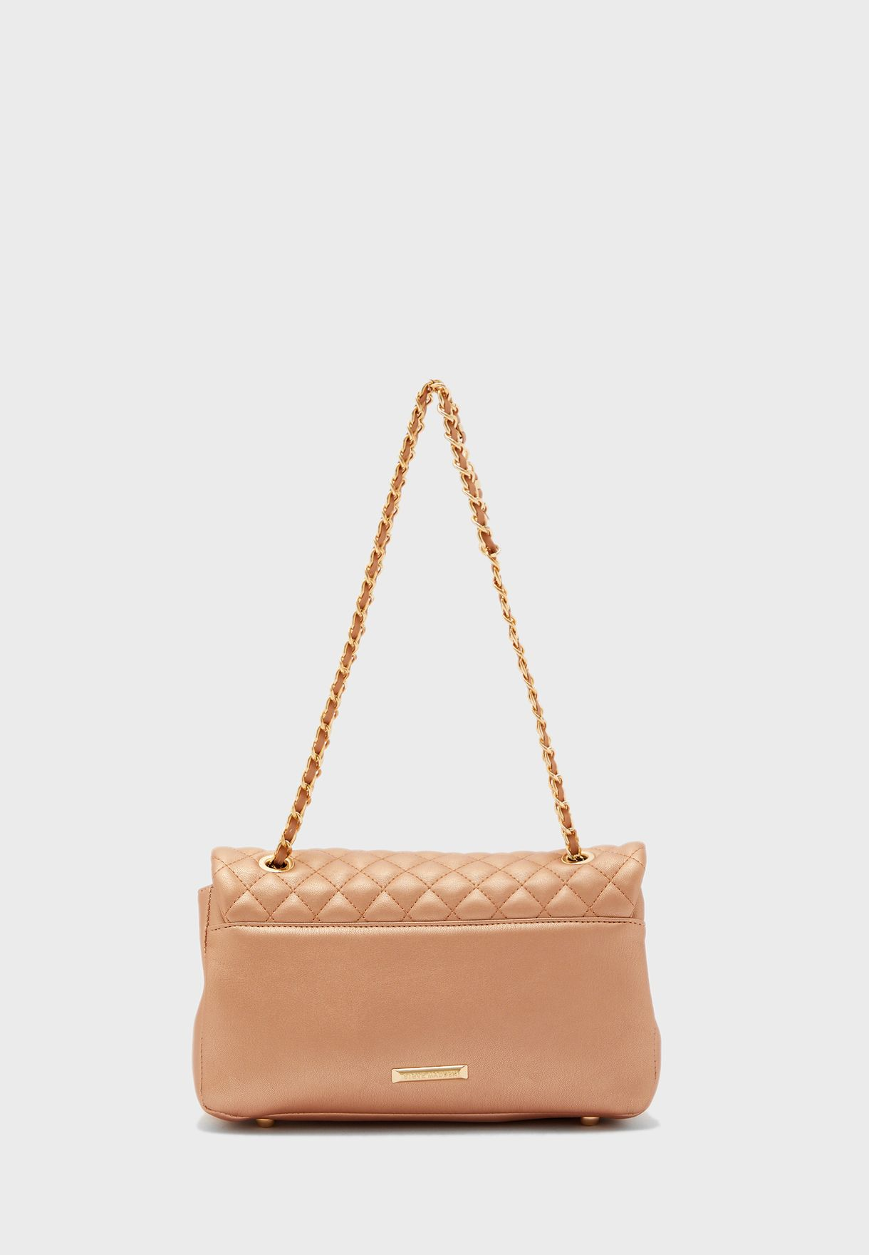 Alps Quilted Flap Crossbody