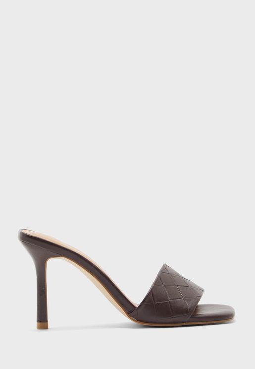 Casual Mid-Heel Sandals