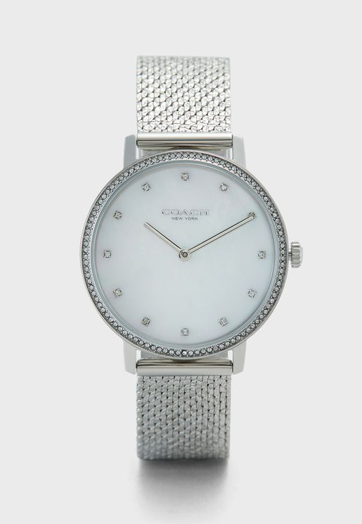 Audrey Stainless Steel Strap Watch