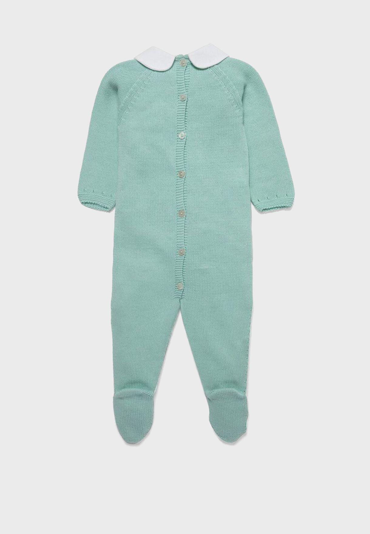 Infant  Peter Pan Collar Romper