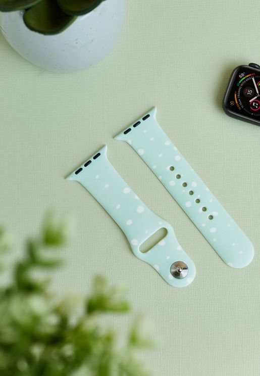 Mint Spots Apple Watch Strap 38/40mm