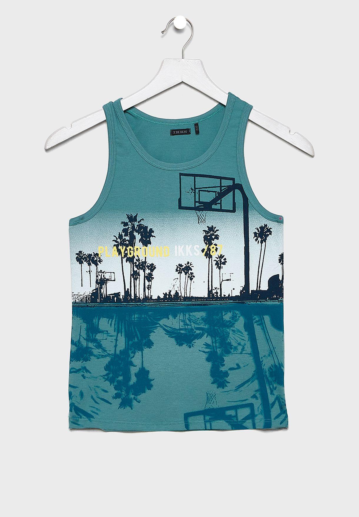 Kids Palm Tree Vest