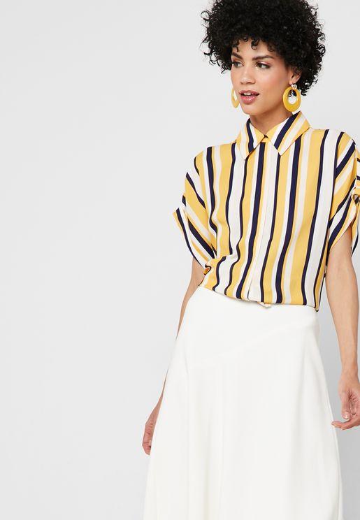 703c07b684 Striped Short Sleeve Shirt