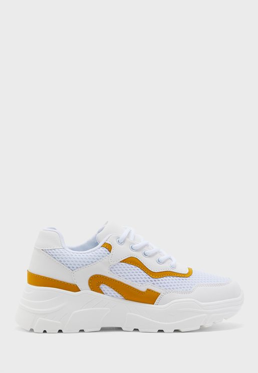 Colour Pop Chunky Sneakers