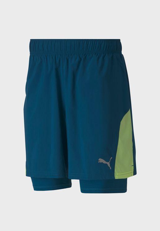 """7"""" Run Favorite Woven 2In1 Shorts"""