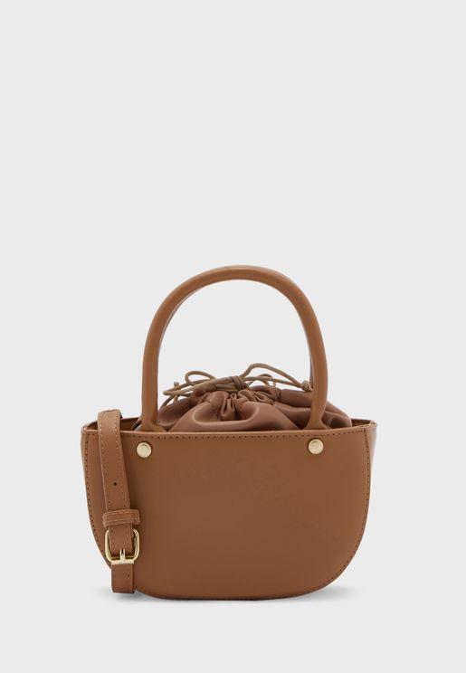 Handbag With Drawstring Pouch
