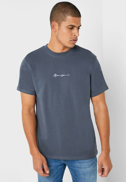 Signature Crew Neck T-Shirt