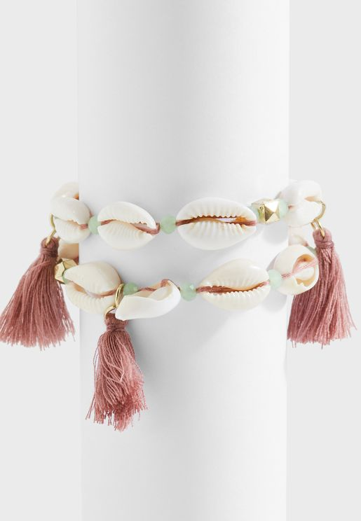 Vera Shell Bracelet