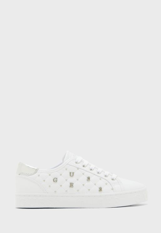 Gladiss Low Top Sneaker - White