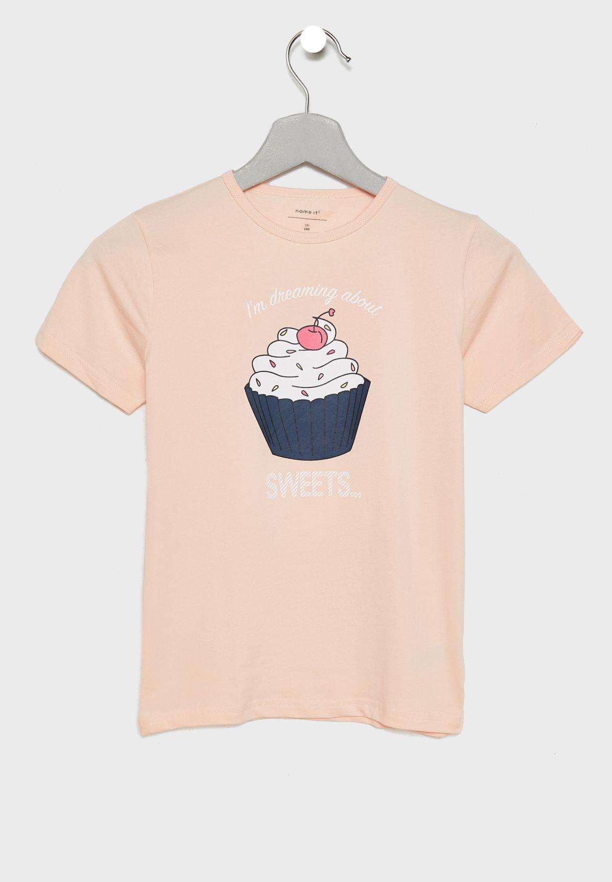 Kids Ice Cream T-Shirt + Shorts Set