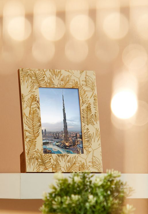 Foiled Pattern Photo Frame