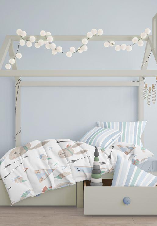غطاء سرير واغطية وسادة