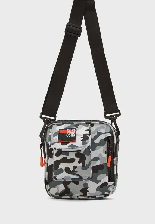 Kids Camo Zip Around Messenger