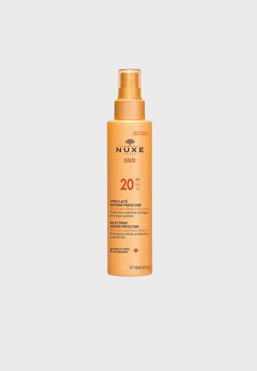 Milky Medium Protection Spray SPF20 150ml