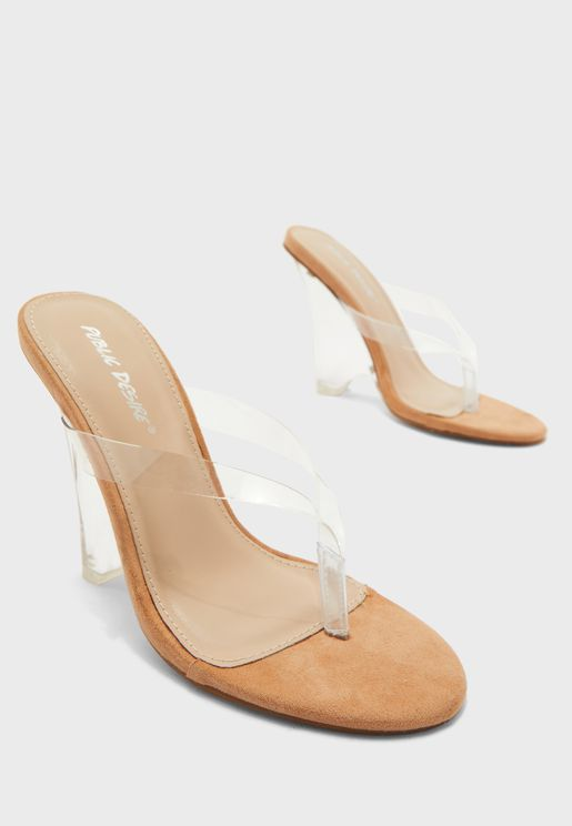 Thong Detail Wedge Sandal