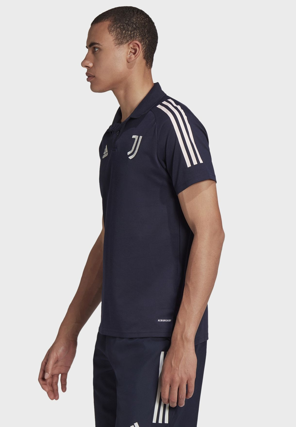 Juventus 3 Stripe Polo