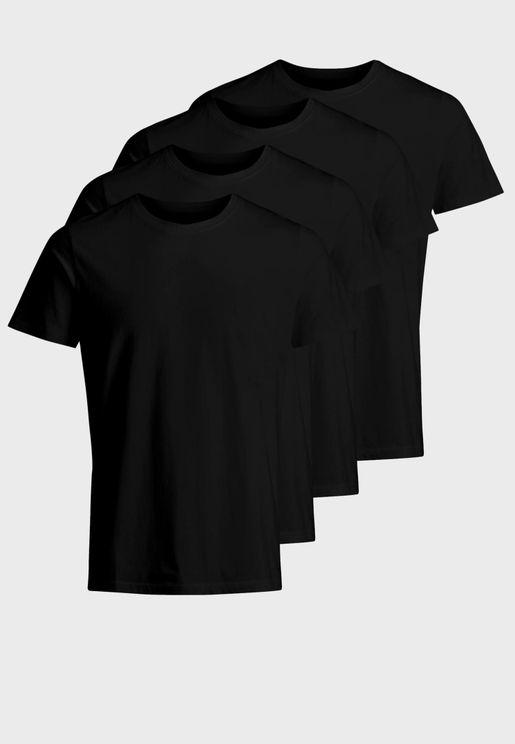 4 Pack Crew Neck T-Shirt