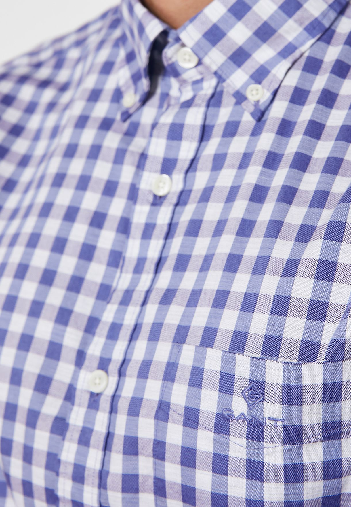 Oxford Gingham Regular Fit Shirt