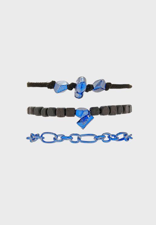 Mixed Media Bracelet