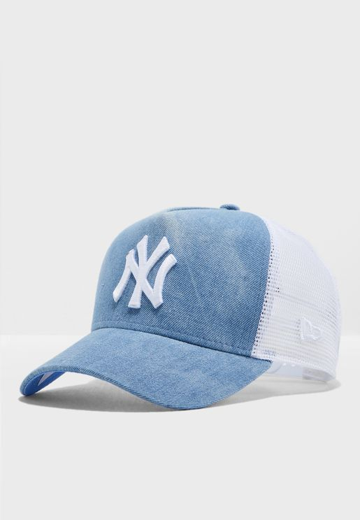 9FortyTie Dye New York Yankees Trucker Cap