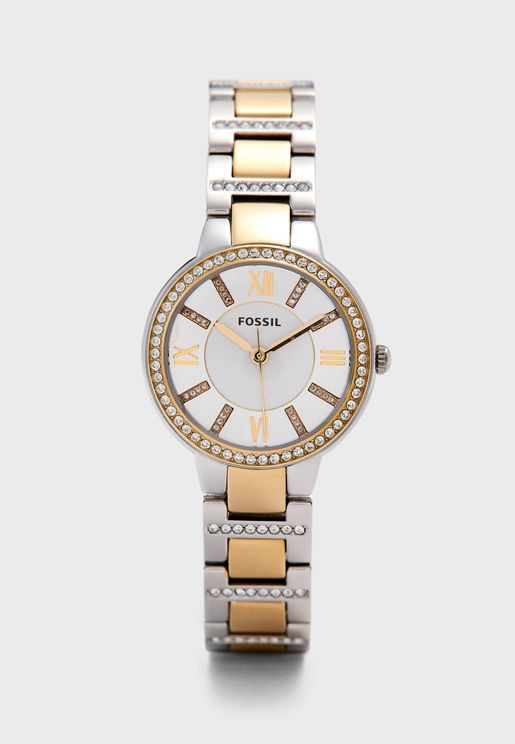 Virginia Two-Tone Watch
