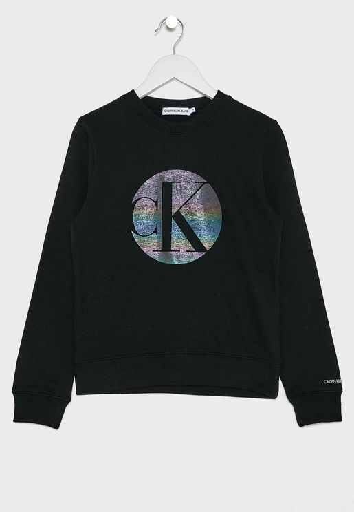 Kids Logo Printed Sweatshirt