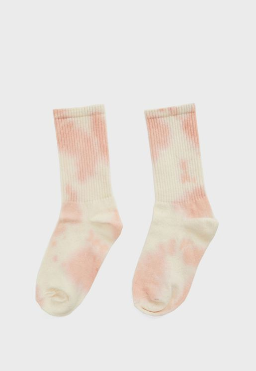 جوارب بطبعات (تاي داي)