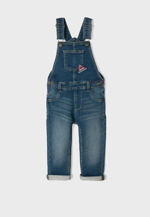 Infant Mid Wash Dungaree