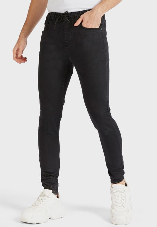 Rinse Skinny Fit Jogg Jeans
