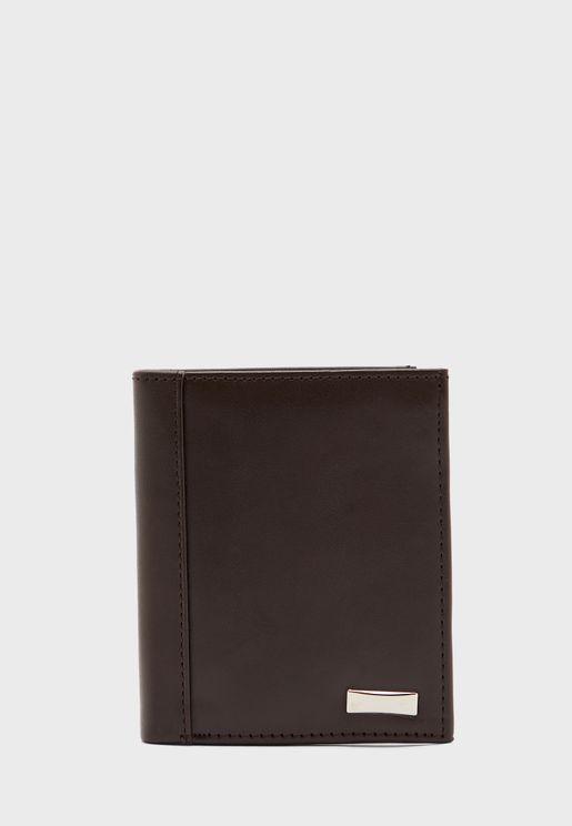 Leatherette Bi-Fold Wallet
