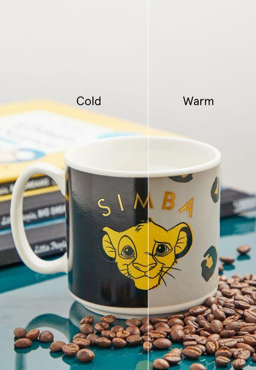 Lion King Heat Change Mug
