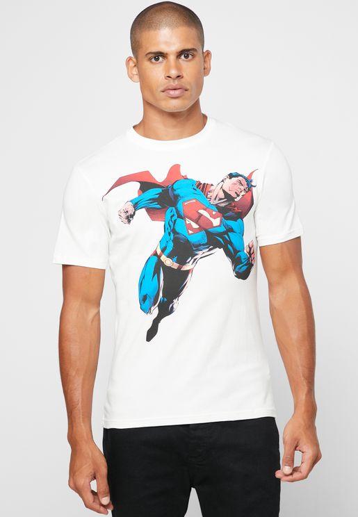 Superman Crew Neck T-Shirt