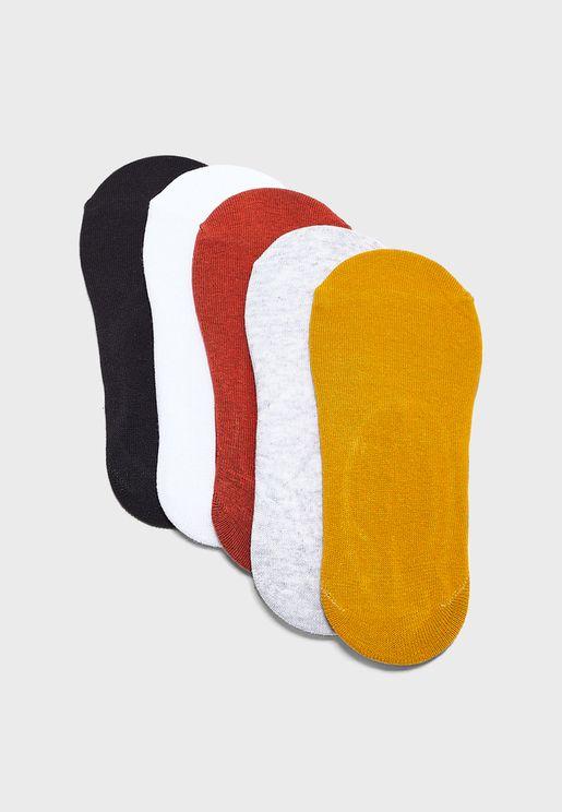 مجموعة من 5 ازواج جوارب