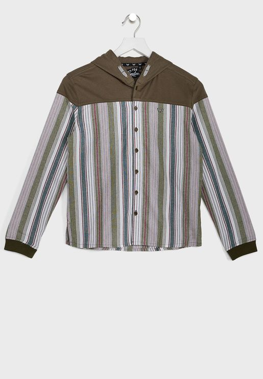 Youth Kit Hooded Shirt