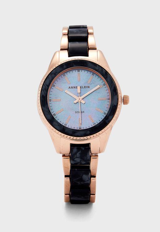 Ak3770Bkrg Analog Watch