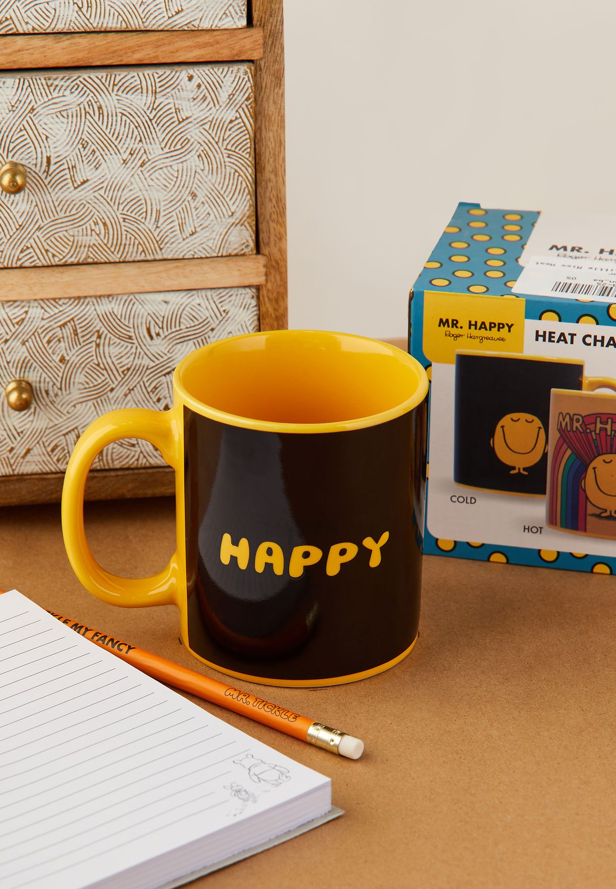 Mr. Happy Heat Change Mug